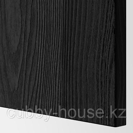 ТИММЕРВИКЕН Фронтальная панель ящика, черный, 60x26 см, фото 2