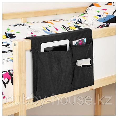 СТИККАТ Карман д/кровати, черный, 39x30 см, фото 2