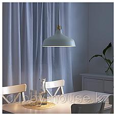 РАНАРП Подвесной светильник, белый с оттенком, 38 см, фото 3