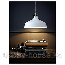 РАНАРП Подвесной светильник, белый с оттенком, 38 см, фото 2