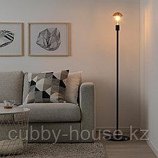 СКАФТЕТ Основание напольн светильн, черный, фото 2