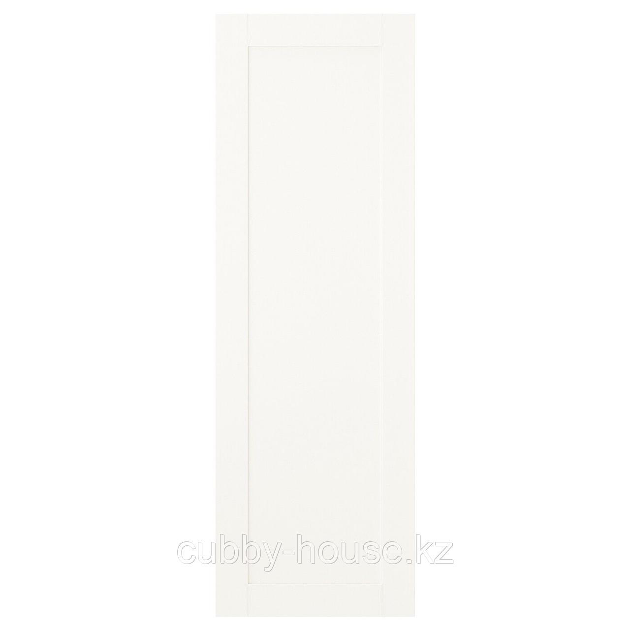САННИДАЛЬ Дверца с петлями, белый, 40x60 см