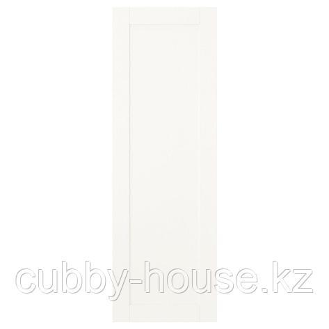 САННИДАЛЬ Дверца с петлями, белый, 40x60 см, фото 2