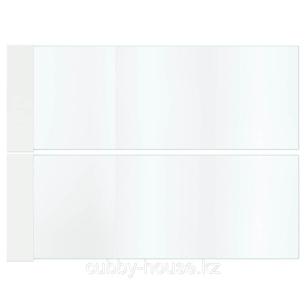 МАКСИМЕРА Дополнит боковина д/ящика, высокая, стекло, 60 см