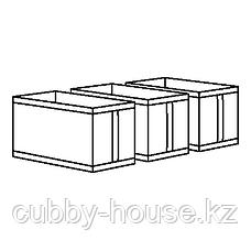 СКУББ Коробка, белый, 31x55x33 см, фото 2