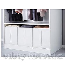 СКУББ Коробка, белый, 31x55x33 см, фото 3