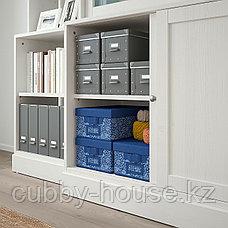 ХАВСТА Комбинация с раздвижными дверьми, белый, 243x47x212 см, фото 2