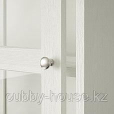 ХАВСТА Комбинация с раздвижными дверьми, белый, 243x47x212 см, фото 3