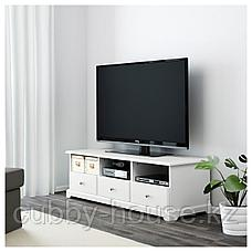 ЛИАТОРП Тумба под ТВ, белый, 145x49x45 см, фото 3
