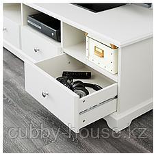 ЛИАТОРП Тумба под ТВ, белый, 145x49x45 см, фото 2