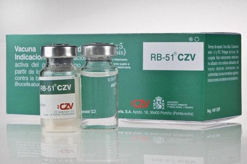 Вакцина РБ-51, фл. 25 доз - против бруцеллеза крупного рогатого скота (Испания), фото 2