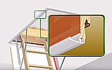 Декоративная планка для чердачных лестниц белая тел.Whats Upp. 87075705151, фото 3