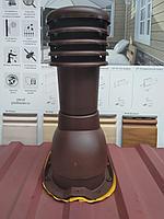 Вентиляционный выход для профнастила МП-20 KBТ-18 Коричневый