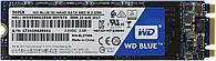 Твердотельный накопитель WD Серия BLUE 500GB SSD 3D NAND M.2 2280 (WDS500G2B0B)