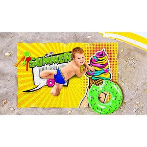 Пляжное покрывало «Держи лето», размер 90 × 140 см