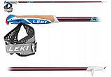Карбоновые палки фиксированной длины LEKI PACEMAKER LITE red (105-125 см), фото 2