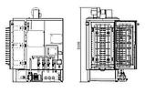 Камерная машина для мойки тележек с противнями, фото 3