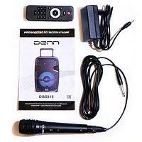 Портативная акустическая система DENN DBS815, фото 2