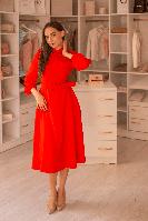 Платье Vokzal RE9959 ROXELAN красное