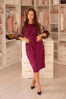 Платье Vokzal VT12354 VITTORIA фиолетовое