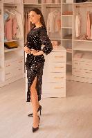 Платье DZYNLINE 7531-B BLACK черное