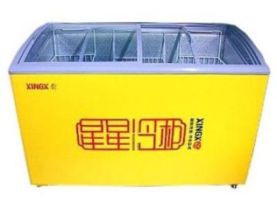 Витринный морозильник DOBON SD/SC-490CY со стекло со стекло