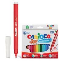 Фломастеры, Joy, 36 цветов.  Carioca