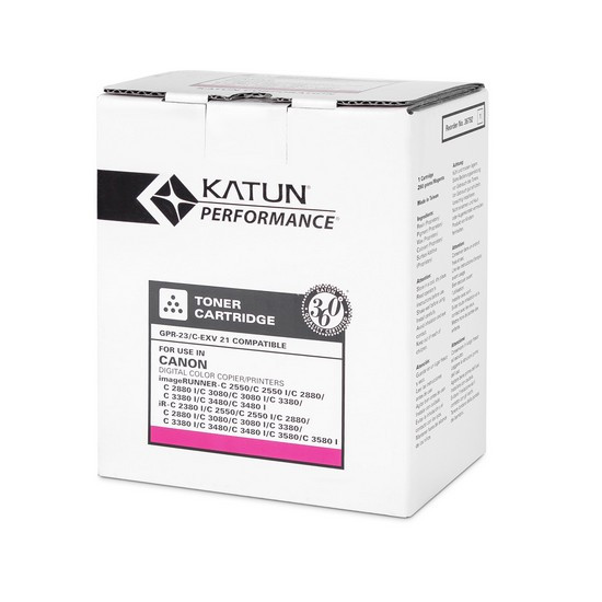 Тонер-картридж Katun GPR-23/C-EXV21 (Magenta, 14000 стр)