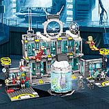 Конструктор аналог лего Lego 76125 Lepin SY 1187 Большая Лаборатория Железного человека 1325 деталей, фото 5