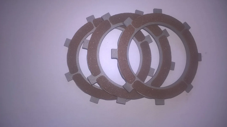 Комплект дисков сцепления мотоблока Мотор Сич (Оригинал), фото 2