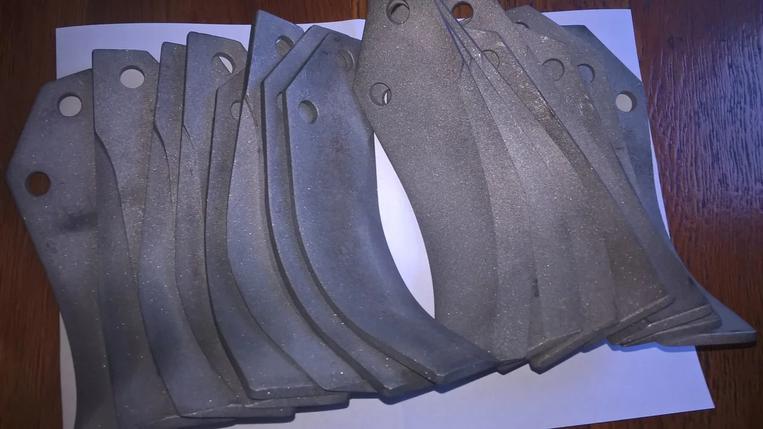 Комплект ножей на фрезу Мотор Сич (Оригинал), фото 2