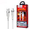 USB КАБЕЛЬ HOCO U72 ″FOREST SILICONE″1.2М, Micro Usb, Type-C, Lighting.