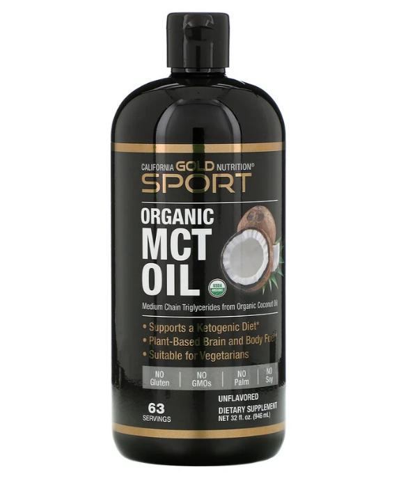 California Gold Nutrition, Organic, MCT Oil, 32 fl oz (946 ml)