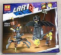 Конструктор LARI 11239 Боевой Бэтмен и Железная борода