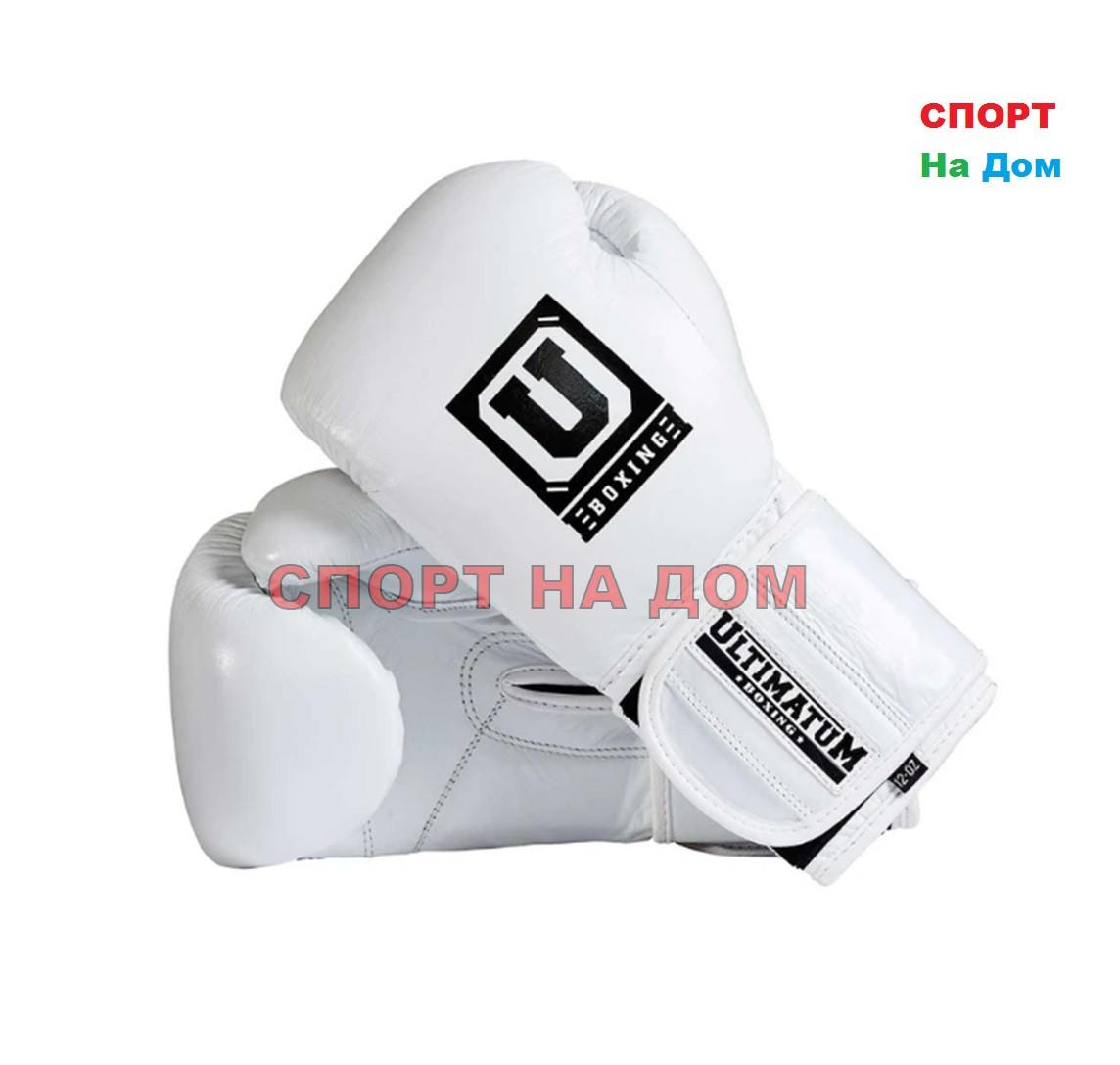 Боксерские перчатки Ultimatum Boxing 12 OZ