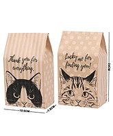 """Крафт-пакет """"Коты"""""""