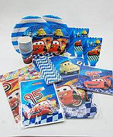 Набор праздничной посуды CARS +