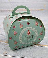 """Коробка с надписью """"CAKE """""""