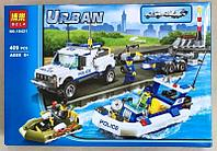 Конструктор Bela 10421 Полицейский патруль Urban