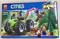 Конструктор Bela Cities 10870 Лесной трактор