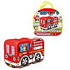 Детская игровая Палатка Пожарная машина 333-116