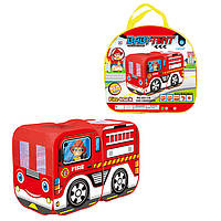 Детская игровая Палатка Пожарная машина 333-116, фото 1