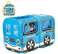 Детская игровая Палатка Полицейская машина 333-115