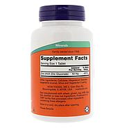 Now Foods, Цинк, 50 мг, 250 таблеток, фото 2