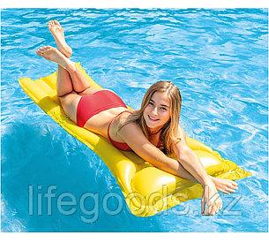 Надувной пляжный матрас Economats 183х69 см Intex 59703NP, фото 2