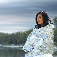 Термо одеяло, спасательное одеяло.
