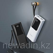 Портативный аккумулятор (Power bank) J41 на 10 000мА/ч с двумя USB выходами (+50часов к работе мини камеры)
