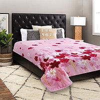Плед Absolute, размер 200 × 220 см, английская коварность, розовый