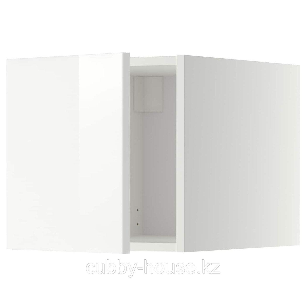 МЕТОД Верхний шкаф, белый, Хэггеби белый, 40x40 см