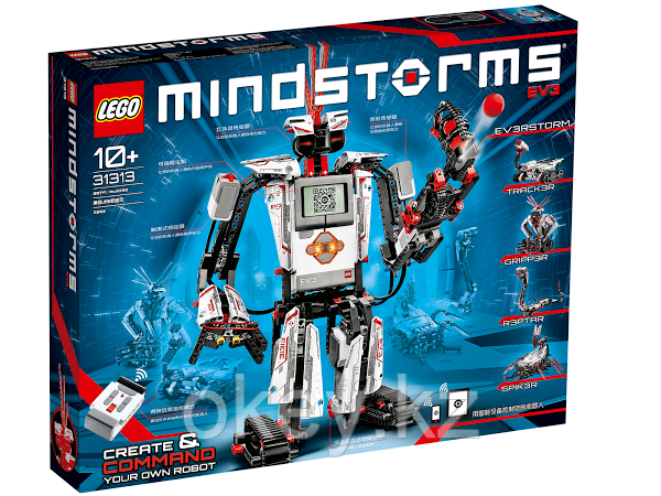 LEGO Education Mindstorms EV3, домашняя версия (Home Edition) 31313